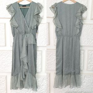 1 State Meadow Sweet High Low Dress Size Medium